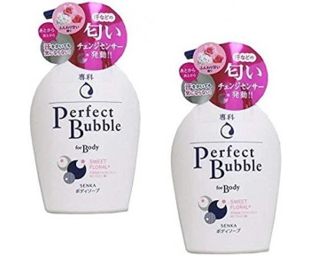 [Bundle Pack]Senka Perfect Bubble For Body Sweet Floral