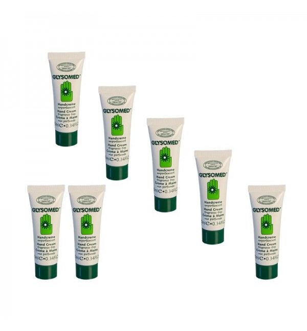 Glysomed Hand Cream Fragrance Free 7pcs x 10ml
