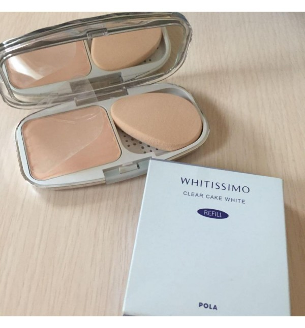 Whitissimo Clear Cake White Powder N53 With Case